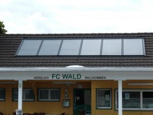 Solaranlage FC Wald