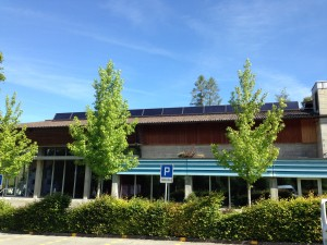 Solaranlage Hallenbad Wald ZH 2