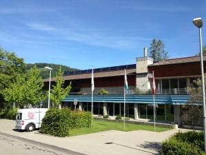 Solaranlage Hallenbad Wald ZH